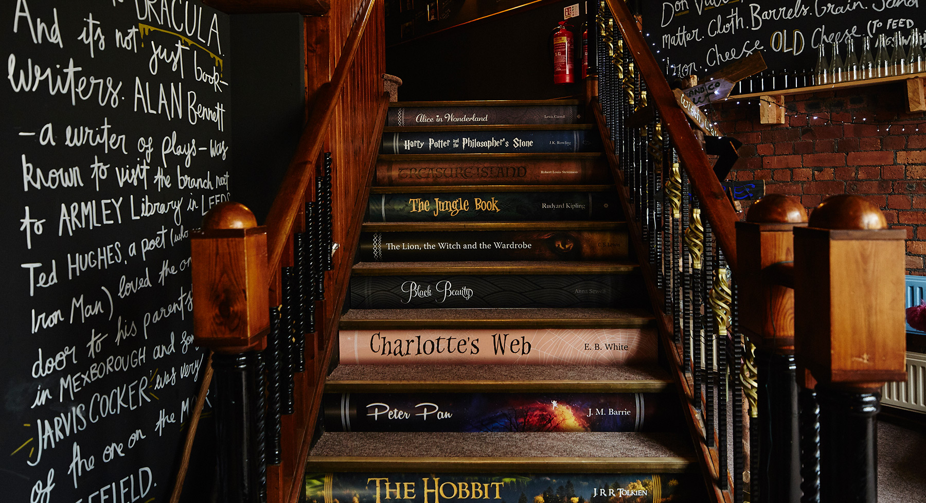 Grimm story stairs