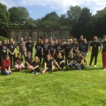 Group of staff and volunteers at Wentworth WOodhouse WE Wonder festival
