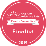 Days out with the kids finalist sticker