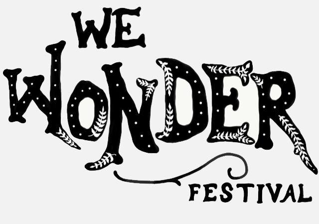 "Illustrative text that reads ""WE Wonder Festival"""