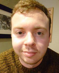 James, volunteer story mentor at Grimm & Co