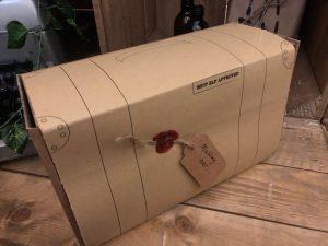 Gift box designed like a suitcase