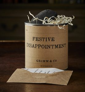 Tin of festive disappointment